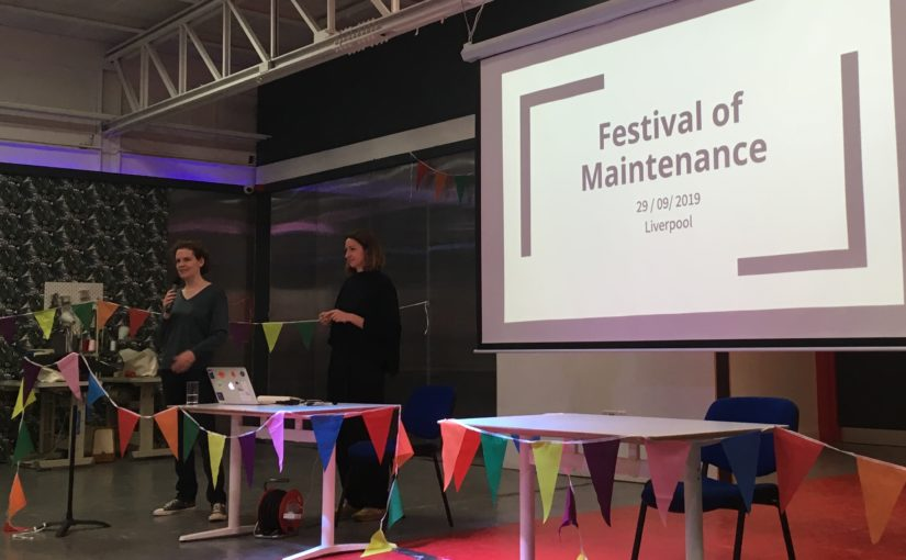 Festival of Maintenance talk: Apps, microsites and collections online: innovation and maintenance in digital cultural heritage