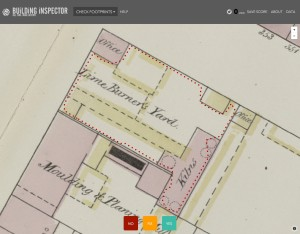 Screenshot from NYPL's Building Inspector