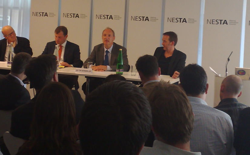 The Future of the Web with Sir Tim Berners-Lee @ Nesta