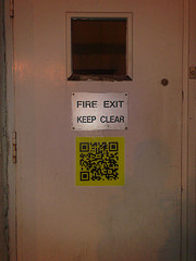 Spotting QR tags in the real world