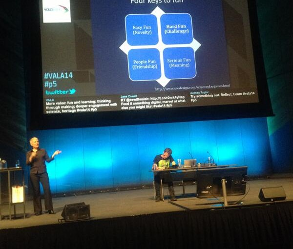 'Bringing maker culture to cultural organisations' at VALA2014