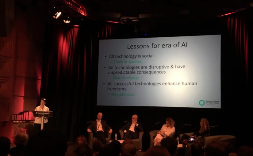 Notes from 'AI, Society & the Media: How can we Flourish in the Age of AI'