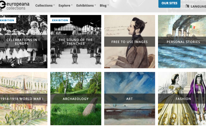 Stuck at home? View cultural heritage collections online